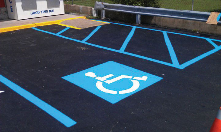 NEPA ADA Compliant Parking Lots