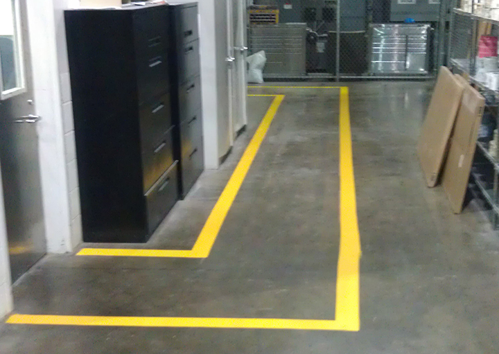 Factory Floor Striping